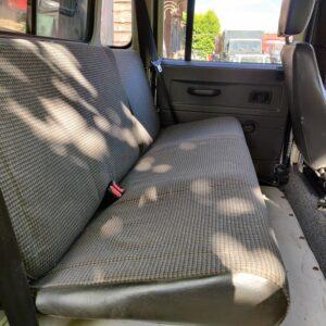 1995 LR LHD Defender 130 300 Tdi Olive Green 2nd row seats
