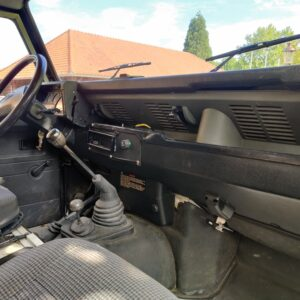 1995 LR LHD Defender 130 300 Tdi Olive Green dash and trim