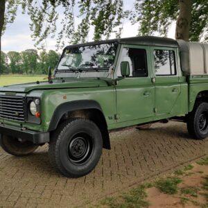 1995 LR LHD Defender 130 300 Tdi Olive Green left front