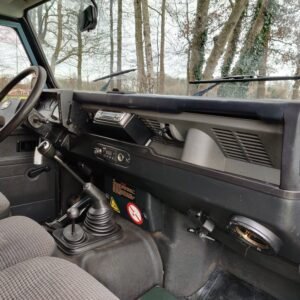 1995 LR LHD Defender 110 Hardtop 300 Tdi Arles Blue dash and trim