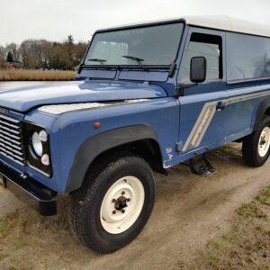 1995 LR LHD Defender 110 Hardtop 300 Tdi Arles Blue left front