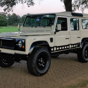 1992 LR LHD Defender 110 200 Tdi S8 done left front