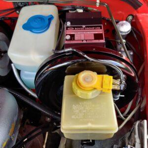 1992 LR LHD Defender 110 V8 Fire Dept 9900 km brake master cylinder