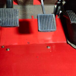 1992 LR LHD Defender 110 V8 Fire Dept 9900 km bulkhead floor driver