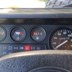1992 LR LHD Defender 110 V8 Fire Dept 9900 km dashboard