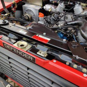 1992 LR LHD Defender 110 V8 Fire Dept 9900 km engine slam panel