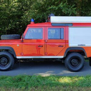 1992 LR LHD Defender 110 V8 Fire Dept 9900 km right side
