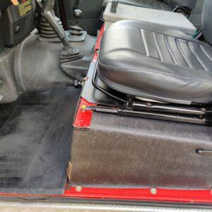 1992 LR LHD Defender 110 V8 Fire Dept 9900 km seatbase driver side