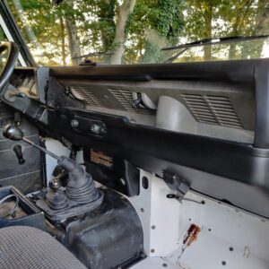 1996 LR LHD Defender 110 White 300 Tdi dash and trim