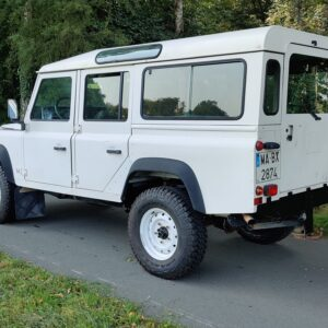 1996 LR LHD Defender 110 White A left rear