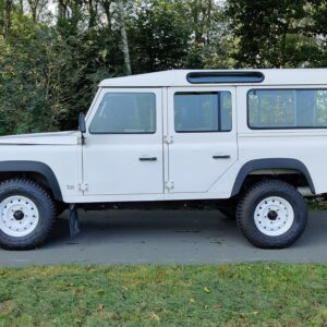 1996 LR LHD Defender 110 White A left side