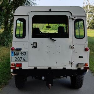 1996 LR LHD Defender 110 White A rear
