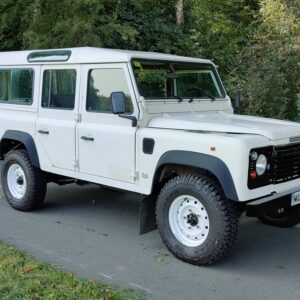 1996 LR LHD Defender 110 White A right front