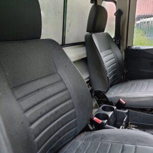 2004 LR LHD Defender 110 High Cap front seats