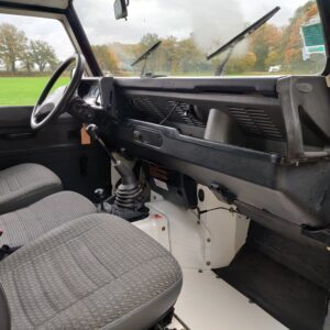 1993 LR LHD Defender 130 200 Tdi White dash and trim