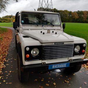 1993 LR LHD Defender 130 200 Tdi White front