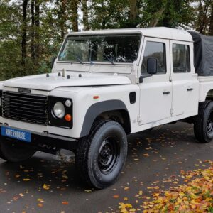 1993 LR LHD Defender 130 200 Tdi White left front