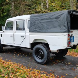 1993 LR LHD Defender 130 200 Tdi White left rear
