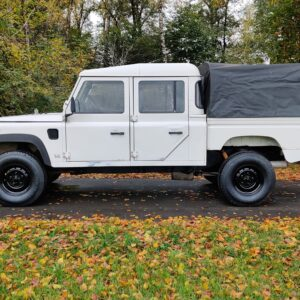 1993 LR LHD Defender 130 200 Tdi White left side