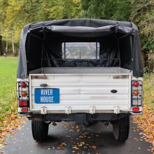 1993 LR LHD Defender 130 200 Tdi White rear