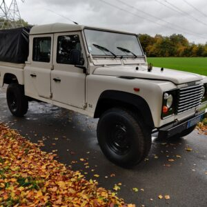 1993 LR LHD Defender 130 200 Tdi White right front