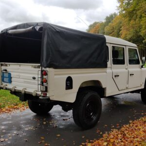 1993 LR LHD Defender 130 200 Tdi White right rear