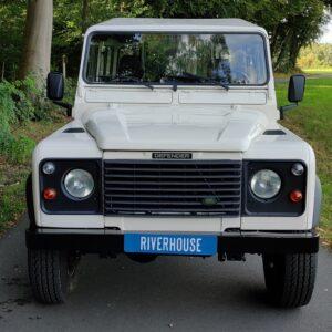 1995 LR LHD Defender 90 Tdi White front