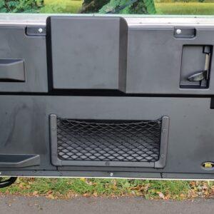 1995 LR LHD Defender 90 Tdi White interior rear doorcard