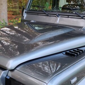 2015 LR LHD Defender 110 2.2 Grey metallic bonnet