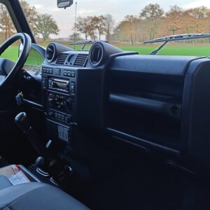 2015 LR LHD Defender 110 2.2 Grey metallic dash and trim