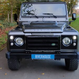 2015 LR LHD Defender 110 2.2 Grey metallic front