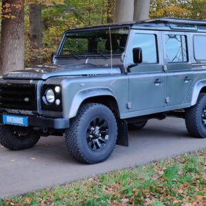 2015 LR LHD Defender 110 2.2 Grey metallic left front