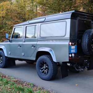 2015 LR LHD Defender 110 2.2 Grey metallic left rear