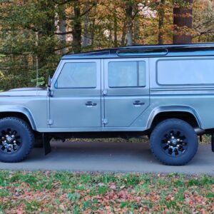 2015 LR LHD Defender 110 2.2 Grey metallic left side