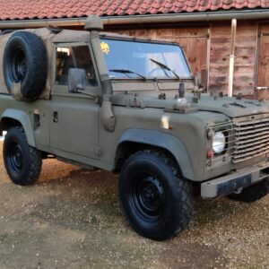 1998 LR LHD Defender 90 WOLF A right front.