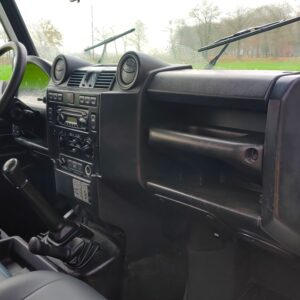 2010 LHD LR Defender 130 White Tdci interior dash and trim