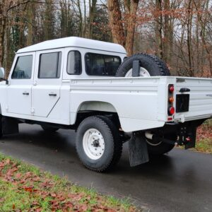 2010 LHD LR Defender 130 White Tdci left rear