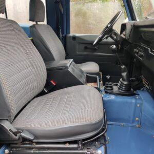 1991 LR LHD Defender 90 Tdi Arles Blue 2 A front seats