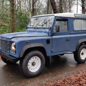1991 LR LHD Defender 90 Tdi Arles Blue 2 A left front