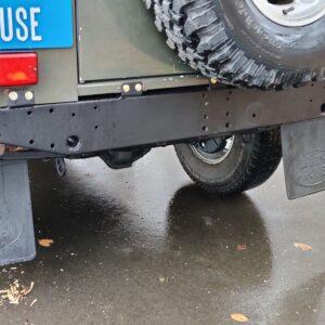 1996 LR Defender 110 300 Tdi Dark Green A rear crossmember