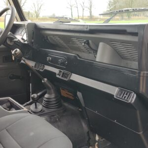 1997 LR LHD Defender 90 300 Tdi White dash and trim