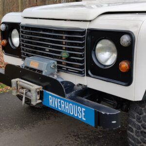 1997 LR LHD Defender 90 300 Tdi White grill close