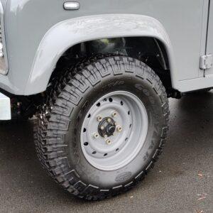 1994 LR LHD Defender 90 300 Tdi AA GREY WOLF wheels