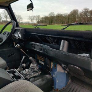 1995 LR LHD Defender 130 dash and trim
