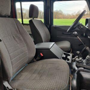 1995 LR LHD Defender 130 front seats