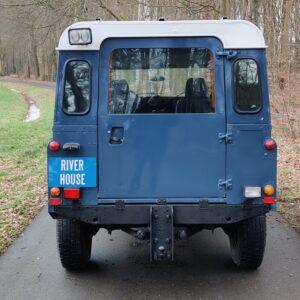 1995 LR LHD Defender 130 rear