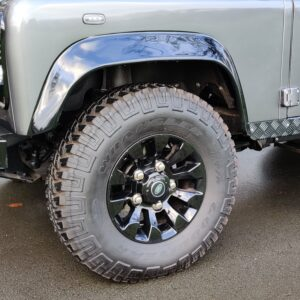 2010 LR LHD Defender 90 Orkney Grey Soft Top A Black hood Sawtooth wheel