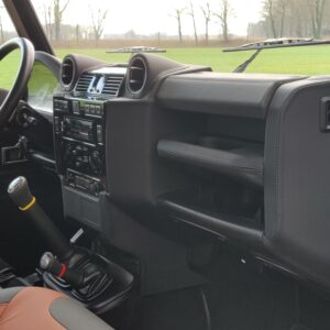 2010 LR LHD Defender 90 Orkney Grey Soft Top A Black hood dash and trim