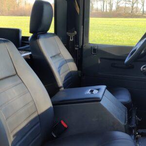 1997 LR LHD Defender 90 300 Tdi front seats