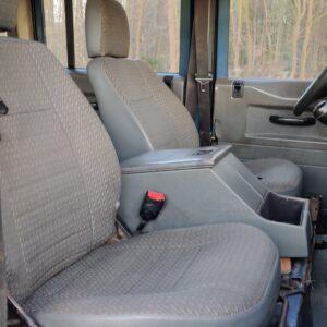 1997 LR LHD Defender 130 300 Tdi A front seats